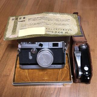 Canon - キャノンカメラVT型とフラッシュユニット