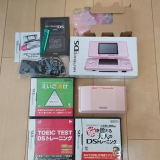 ニンテンドーDS(ニンテンドーDS)のお値下げ☆ニンテンドーDS 本体+ ソフト3本セット(携帯用ゲーム機本体)