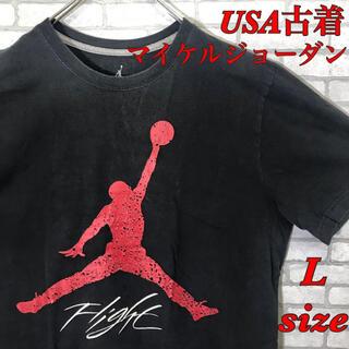 ナイキ(NIKE)のマイケルジョーダン Tシャツ L Jordan Brand Nike 古着(Tシャツ/カットソー(半袖/袖なし))