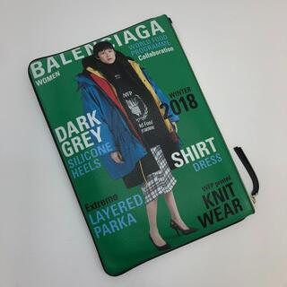 バレンシアガ(Balenciaga)のバレンシアガ スーパーマーケット クリップ クラッチバッグ レザー(クラッチバッグ)