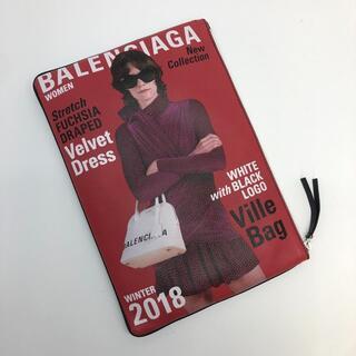 バレンシアガ(Balenciaga)のバレンシアガ 506794 スーパーマーケット クリップ クラッチバッグ レザー(クラッチバッグ)