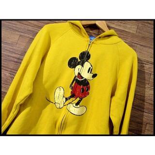 ディズニー(Disney)のG① 東京 ディズニー オフィシャル ミッキー 耳付き スウェット パーカー M(パーカー)