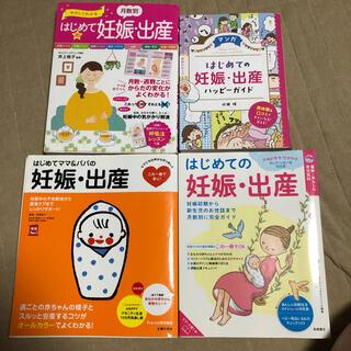 はじめての妊娠 出産 4冊セット 妊娠 妊婦 ハッピーガイド 漫画(結婚/出産/子育て)