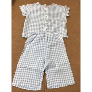 ムジルシリョウヒン(MUJI (無印良品))の無印良品 半袖 パジャマ 90(パジャマ)