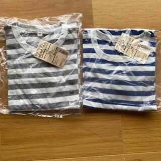 ムジルシリョウヒン(MUJI (無印良品))の未開封★無印 長袖Tシャツ 100(その他)