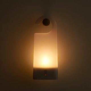 ムジルシリョウヒン(MUJI (無印良品))の☆美品 無印良品 LED持ち運びが出来るあかり☆(テーブルスタンド)