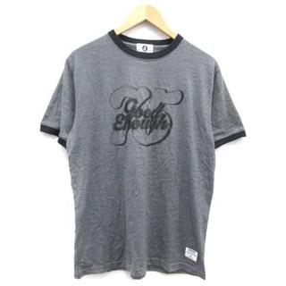 グッドイナフ(GOODENOUGH)のグッドイナフ Tシャツ カットソー 半袖 ロゴ プリント グレー(Tシャツ/カットソー(半袖/袖なし))
