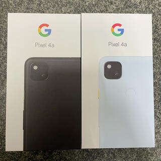 グーグル(Google)のGoogle Pixel 4a(スマートフォン本体)