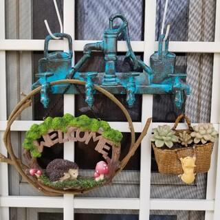 玄関/庭/お気に入り場所を素敵に彩る雑貨『3点セット』゚・*.。❁新品.。❁(プランター)
