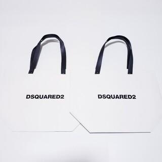 ディースクエアード(DSQUARED2)の専用 DSQUARED2 ショップ袋 小サイズ2枚(ショップ袋)