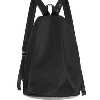 エミアトリエ(emmi atelier)のボディバッグパック ブラック 新品未使用(リュック/バックパック)