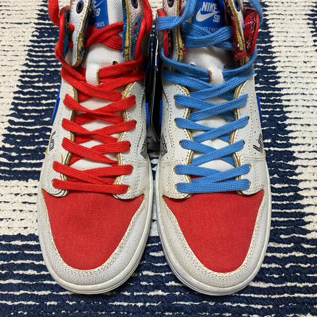 NIKE(ナイキ)のMagnus Walker x NIKE SB DUNK HIGH 25cm メンズの靴/シューズ(スニーカー)の商品写真
