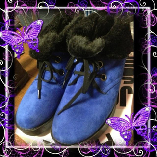 ジーナシス(JEANASIS)のJEANASISファーブーツ(ブーツ)