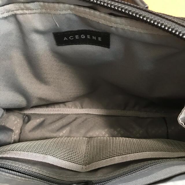 ACE GENE(エースジーン)のACE GENE 黒 ショルダーバッグ ビジネスバッグ メンズのバッグ(ショルダーバッグ)の商品写真
