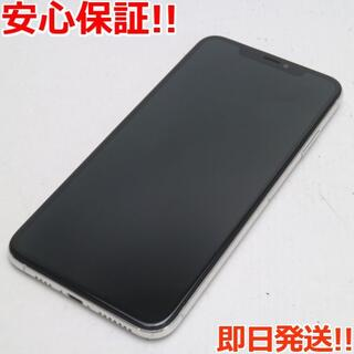 アイフォーン(iPhone)の美品 SIMフリー iPhoneXS MAX 64GB シルバー 白ロム (スマートフォン本体)
