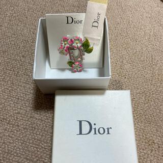 クリスチャンディオール(Christian Dior)のChristianDiorブローチ(ブローチ/コサージュ)