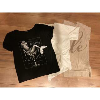 ブージュルード(Bou Jeloud)のBou Jeloud  Tシャツ3枚セット(Tシャツ(半袖/袖なし))