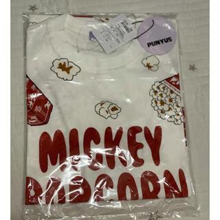 プニュズ(PUNYUS)のPUNYUS ポップコーン ディズニー Tシャツ ミッキー(Tシャツ(半袖/袖なし))