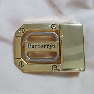 バーバリー(BURBERRY)のベルトバックル Burberrys(ベルト)