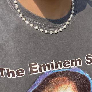 キャピタル(KAPITAL)のパールネックレス Paarl necklace パールチェーンネックレス(ネックレス)