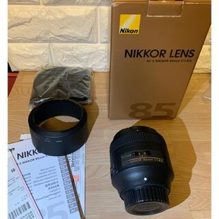 ニコン(Nikon)のニコンNikon AF-S NIKKOR 85mm f/1.8G Fマウント(レンズ(単焦点))