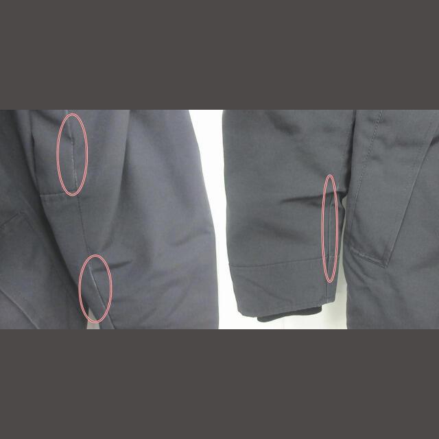 CANADA GOOSE(カナダグース)のカナダグース ジャスパー ダウンジャケット コート フード 黒 M 3438JM メンズのジャケット/アウター(ダウンジャケット)の商品写真