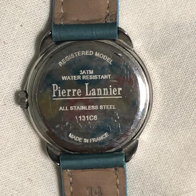 Pierre Lannier(ピエールラニエ)のピエールラニエ 猫ちゃん時計 レディースのファッション小物(腕時計)の商品写真