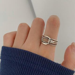 アリシアスタン(ALEXIA STAM)のタブルツイストシルバーリング silver925(リング(指輪))