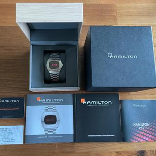 ハミルトン(Hamilton)のハミルトン パルサー PSR【美品】(腕時計(デジタル))