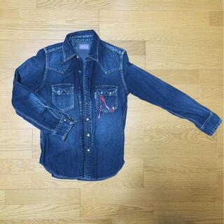 ブルーブルー(BLUE BLUE)のBLUE BLUE デニムシャツ S 1番(シャツ)