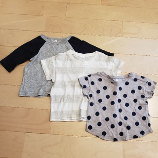 ムジルシリョウヒン(MUJI (無印良品))の無印 セット売り(Tシャツ)