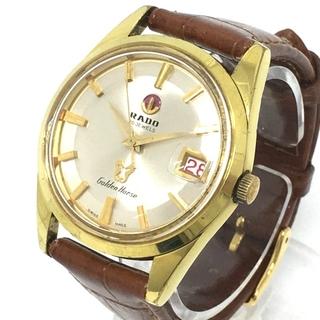 RADO - ラドー 30石 ゴールデンホース 手巻き メンズ腕時計 ゴールド