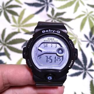 ベビージー(Baby-G)のCASIO Baby-G bg-6903 ジーショック ブラック×青紫(腕時計)