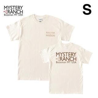 ミステリーランチ(MYSTERY RANCH)のミステリーランチ メンズ ビルトフォーザミッションV2 Tシャツ S ナチュラル(Tシャツ/カットソー(半袖/袖なし))