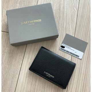 ジェイアンドエムデヴィッドソン(J&M DAVIDSON)のJ&M DAVIDSON カードケース(名刺入れ/定期入れ)