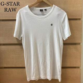 ジースター(G-STAR RAW)の美品!【複数割】GSTAR RAW 半袖Tシャツ 白 Mサイズ(Tシャツ/カットソー(半袖/袖なし))