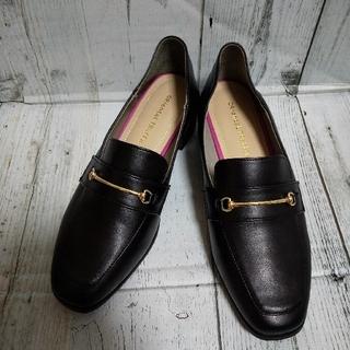 オリエンタルトラフィック(ORiental TRaffic)の新品 ORiental TRaffic  ローファー 23cm 黒 ローヒール(ローファー/革靴)