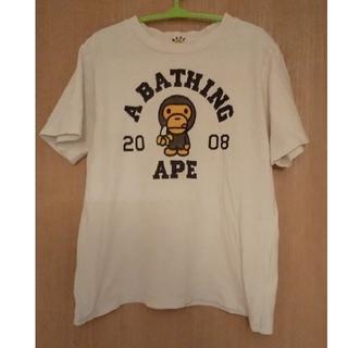 アベイシングエイプ(A BATHING APE)のベイプキッズ Tシャツ 正規品 120 エイプ キッズ BAPE KIDS(Tシャツ/カットソー)