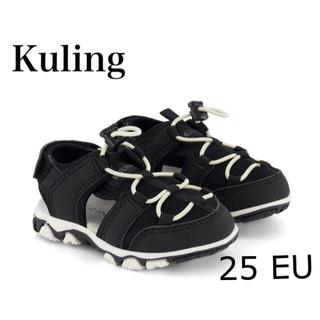コドモビームス(こども ビームス)のKuling Black キッズサンダル ブラック(サンダル)