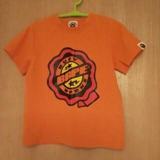 アベイシングエイプ(A BATHING APE)のベイプキッズ Tシャツ100 正規品 エイプ キッズ BAPE KIDS(Tシャツ/カットソー)
