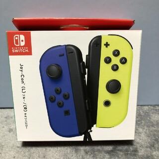 ニンテンドースイッチ(Nintendo Switch)の任天堂 switch ジョイコン ブルー、ネオンイエロー 新品未開封品(その他)