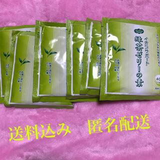 イオンサポート緑茶ゼリーの素6個セット 送料込み匿名配送(茶)