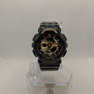 ベビージー(Baby-G)のG-SHOCK baby-G BA-110 ブラック&ゴールド(腕時計(デジタル))
