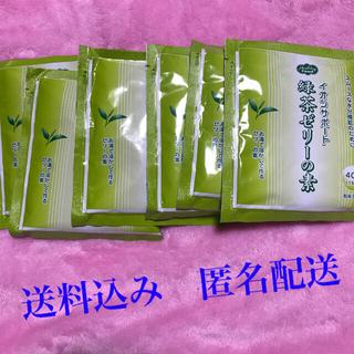 イオンサポート 緑茶ゼリーの素6個セット 送料込み 匿名配送(茶)