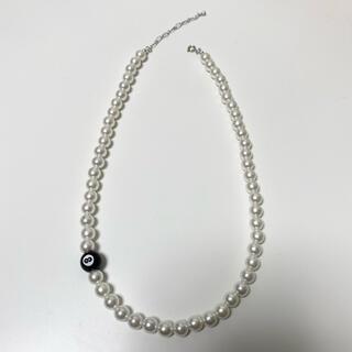 キャピタル(KAPITAL)のpearl necklace パールビーズネックレス(ネックレス)