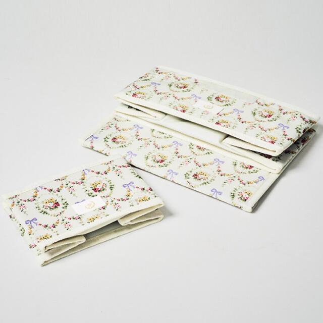 Maison de FLEUR(メゾンドフルール)のメゾン ド フルール 花柄収納ボックス 2個セット インテリア/住まい/日用品のインテリア小物(小物入れ)の商品写真