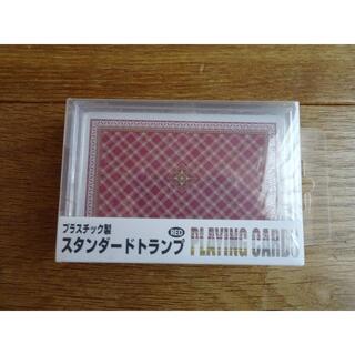 新品!送料込み☆スタンダードトランプ プラスチック製 RED(トランプ/UNO)