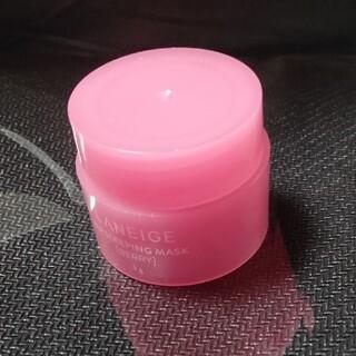アモーレパシフィック(AMOREPACIFIC)のLANEIGEリップスリーピングマスク 3g 新品未使用トライアルサイズ(リップケア/リップクリーム)