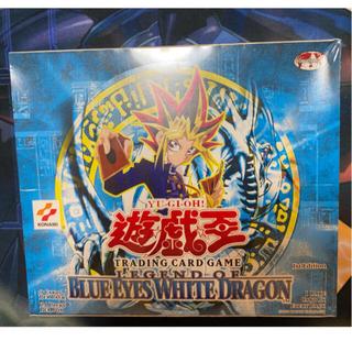 レジェンドオブブルーアイズホワイトドラゴン1st アジア版box 未開封(Box/デッキ/パック)