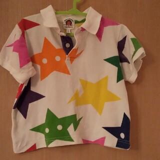 アベイシングエイプ(A BATHING APE)のベイプキッズ ポロシャツ カットソー 正規品 エイプ キッズ BAPE KIDS(Tシャツ/カットソー)